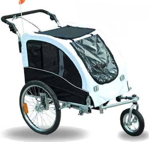 Aosom Elite II Pet Dog Bike Bicycle Trailer Stroller