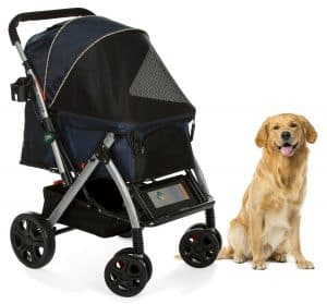 HPZ Pet Rover Premium Heavy Duty Dog Cat Pet Stroller