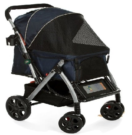 HPZ Pet Rover Premium Heavy Duty Dog Cat Stroller