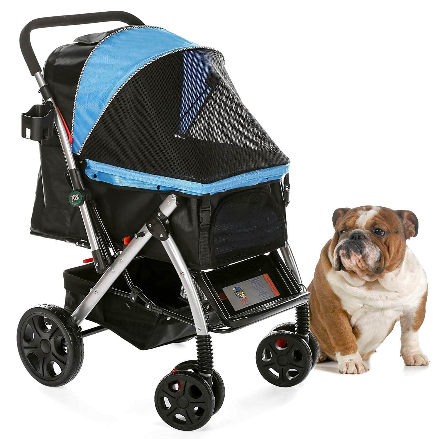 HPZ Pet Rover Premium Heavy Duty Dog Stroller