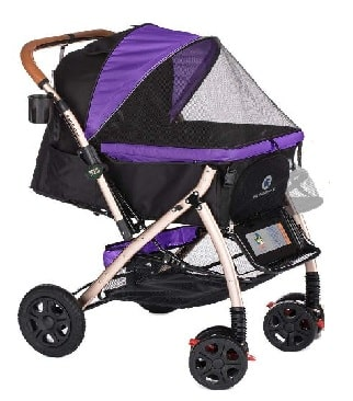 HPZ Pet Rover XL Extra-Long Premium Heavy Duty Dog Strollers