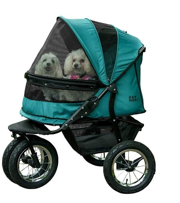 Pet Gear NO-ZIP Double Pet Strollers