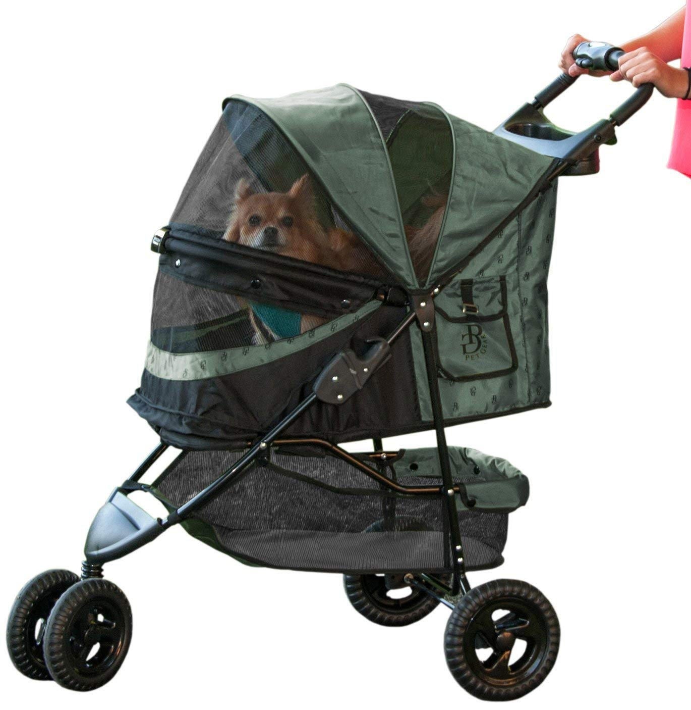 Pet Gear No-Zip Special Edition 3 Wheel Pet Stroller
