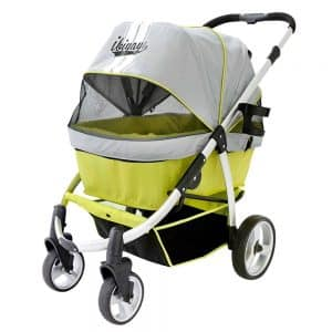 ibiyaya Double Dog Stroller for Large Dogs