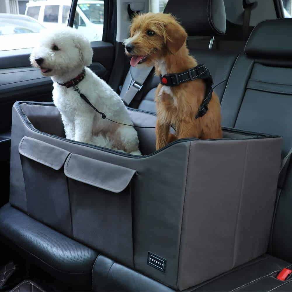 Double Seat Car Booster Dog Seat