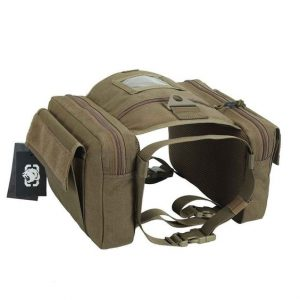dog backpack with saddle bags