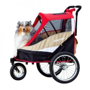 ibiyaya 2-in-1 Pet Stroller